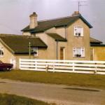 Date - 20/05/1978. Garton. Photo Ref 135.The road frontage.©  Alan Lewis