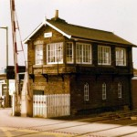 Date - 02/1978. Malton. Photo Ref 141.The station had 3 signalboxes - West, Station and East - but West and Station were closed in 1966 leaving East which was renamed just Malton. It still exists today. ©  Alan Lewis