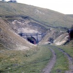 Date - 21/04/1976. Burdale Tunnel. Photo Ref 9.Southern portal©  Alan Young