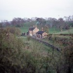 Date - 21/04/1976. North Grimston. Photo Ref 37.The station©  Alan Young