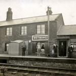 Date - 1910. Wetwang. Photo Ref 73.The station©  John Alsop