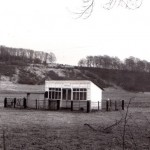 Date - 06/01/1978. Sledmere and Fimber. Photo Ref 296.The waiting room now used as a cricket pavilion©  Brunel University/W R Burton