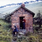 Date - 14/08/1960. Burdale Tunnel. Photo Ref 234.The plate layers hut - just outside the Southern portal©  Len Cook