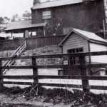 Date - 1930. Burdale. Photo Ref 275.The station from the rear. Taken from the road©  W R Burton Authors Collection