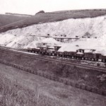 Date - 1930. Burdale. Photo Ref 277.The quarry sidings are a hive of activity©  W R Burton Authors Collection