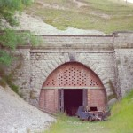 Date - 1984. Burdale Tunnel. Photo Ref 369.The Southern portal in 1984©  Phil Robson