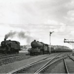 Date - 04/08/1962. Malton. Photo Ref 413.B16 4-6-0 no 61438 passes Malton with a summer train from Scarborough to Glasgow routed via York and not Gilling.©  A M Ross