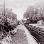 Date - 1920. Settrington. Photo Ref 287.The station©  W R Burton Authors Collection