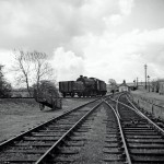 Date - 1956. Settrington. Photo Ref 383.J39 0-6-0 on the Malton – Driffield – Market Weighton – Selby pick-up freight shunting the coal drops.©  A M Ross
