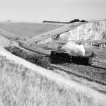 J27-0-6-0 at Burdale Quarry 1957 - Tony Ross