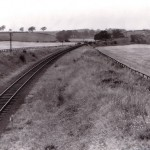 Date - 20/08/1958. North Grimston. Photo Ref 286.Looking towards Settrington. The viaduct can just be seen in the distance©  J Aylard
