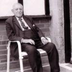 Date - 28/07/1983. Wharram. Photo Ref 325.Thomas Sleightholme. Thomas was the Station Master at Wharram and was aged 99 when this photo was taken©  W R Burton