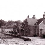 Date - 14/08/1959. North Grimston. Photo Ref 233.The station shortly after closure©  K L Taylor - NERA Collection