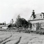 Date - 02/06/1957. North Grimston. Photo Ref 250.The station from the rear©  R Casserley