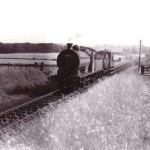 Date - 20/08/1958. Settrington. Photo Ref 291.Taken just after the viaduct heading to North Grimston. Loco 65844©  J Aylard