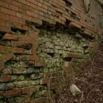 Date - 22/11/2009. Wharram. Photo Ref 375.The Wharram bridge brick work was in a very poor state©  Phil Robson