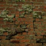 Date - 22/11/2009. Wharram. Photo Ref 376.The Wharram bridge brick work was in a very poor state©  Phil Robson