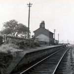 Date - Unknown. Wetwang. Photo Ref 629.The station from the Driffield end looking towards Malton©  Mrs Wray